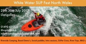 White Water SUP Fest North Wales @ Coed Y Glyn Farm | Glyndyfrdwy | Wales | United Kingdom