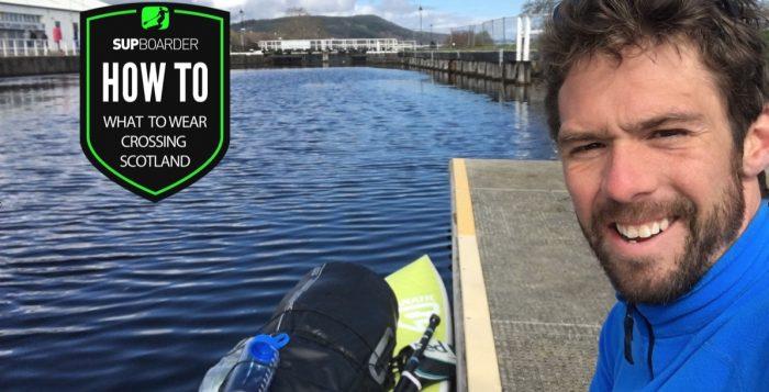 A SUP adventure crossing Scotland
