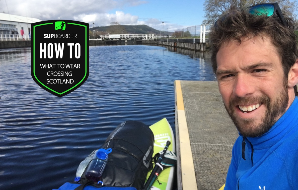 A SUP adventure crossing Scotland