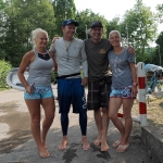 Bart de Zwart SUP distance record