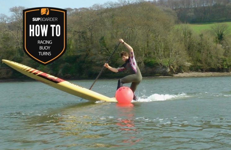 SUP Buoy Turns / How to SUP videos with Ben Fisher