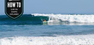SUP surf fins