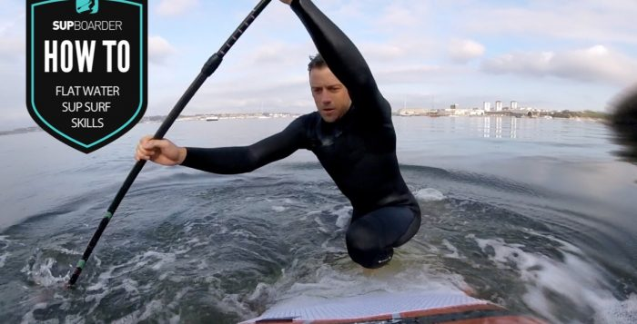 SUP surfing skills