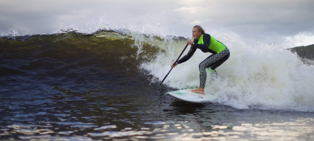 How to become a all rounded SUP surfer Feature image : Izzi Gomez Surf at Snowdonia bypaulterry.co.uk/