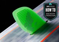 Basics on race fin constructions / How to SUP video with Ben Pye