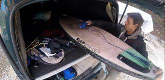 A quest for waves - Surfing boulders & boils / Reuben's VBLOG