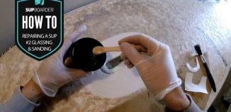 Repairing a SUP