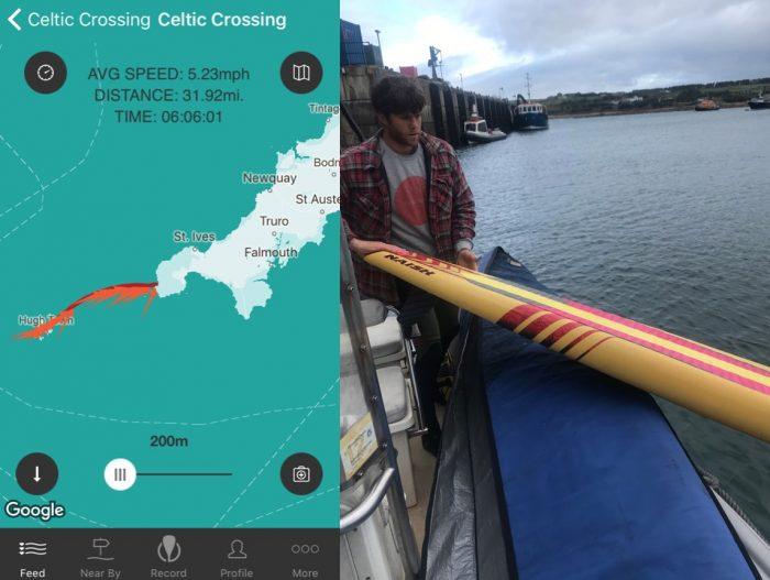 Ben Fisher's full on SUP Challenge    Celtic crossing 'bandit run