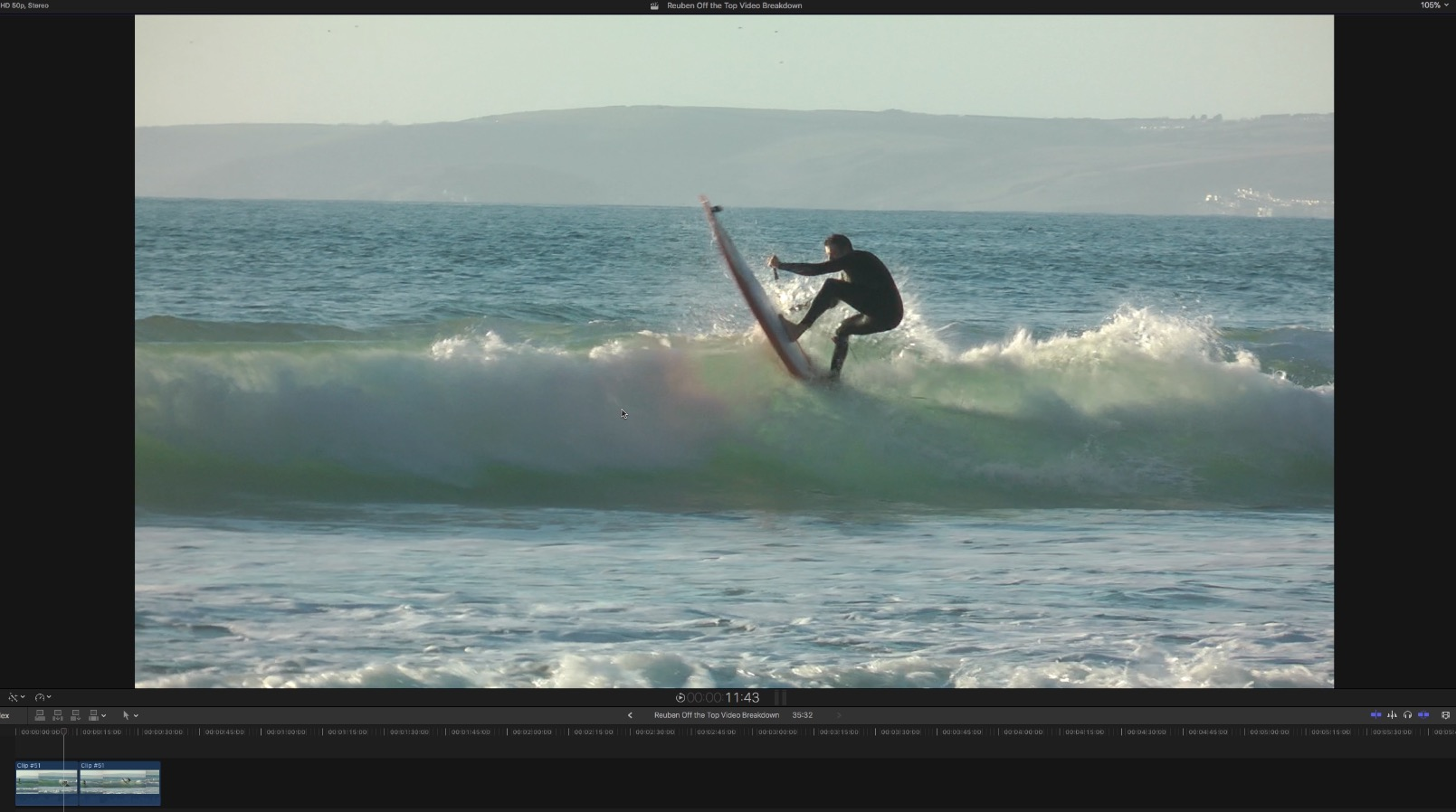 SUPboarder PRO video breakdown / Small wave Re-entry