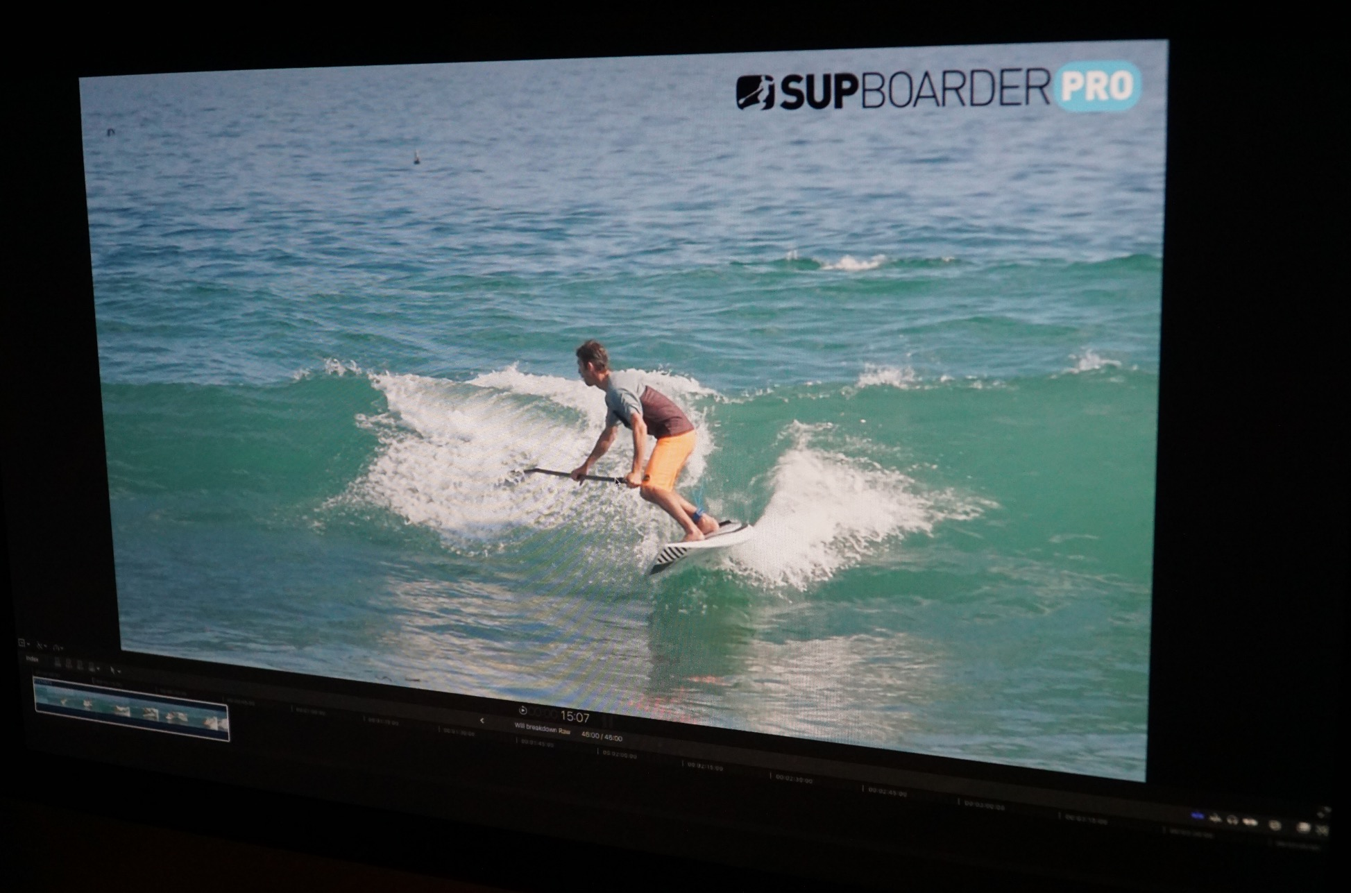 SUPboarder Pro Video breakdown