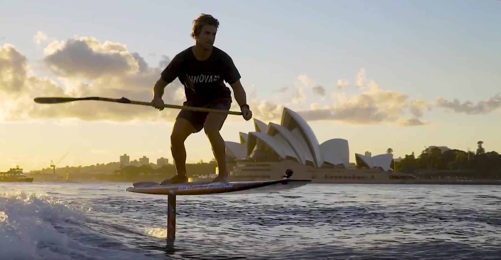 SUP foiling Sydney
