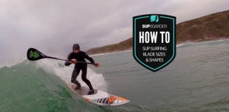 SUP surfing paddle