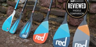 Red Paddle Co paddle range