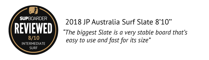 2018 JP Australia Surf Slate 8'10 review