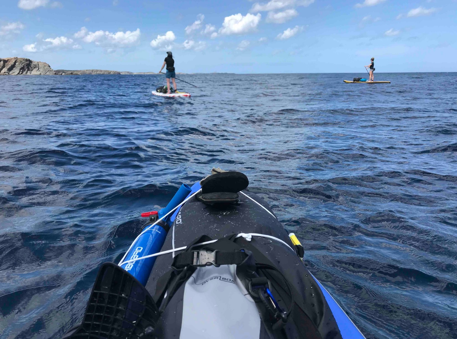 paddle adventure around Menorca