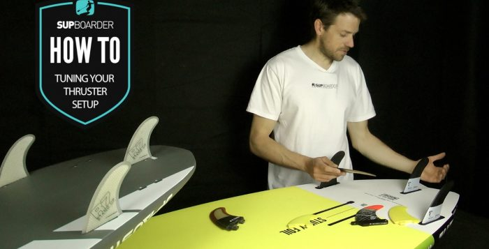 Tuning your thruster fin setup