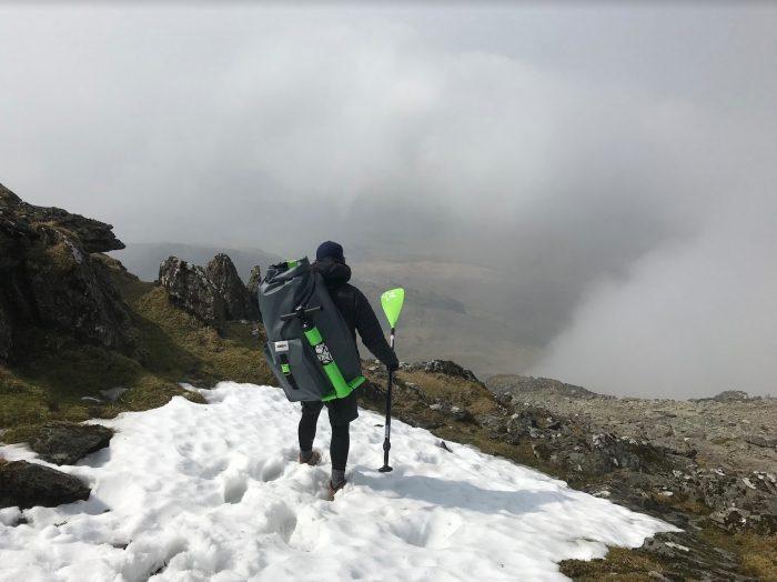 Kris Roach - SUP/hike/explore 2018