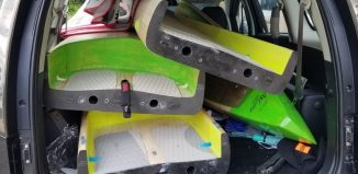 2 piece race boards