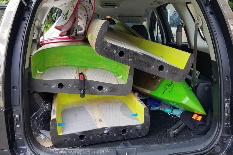 2 piece race boards