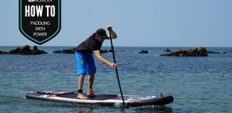 Learning how to paddle with power