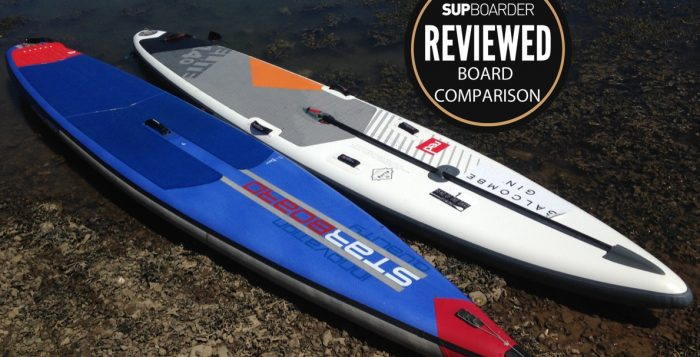 Starboard Airline Vs Red Paddle Co Elite