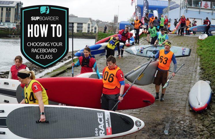 Choosing your SUP raceboard & class