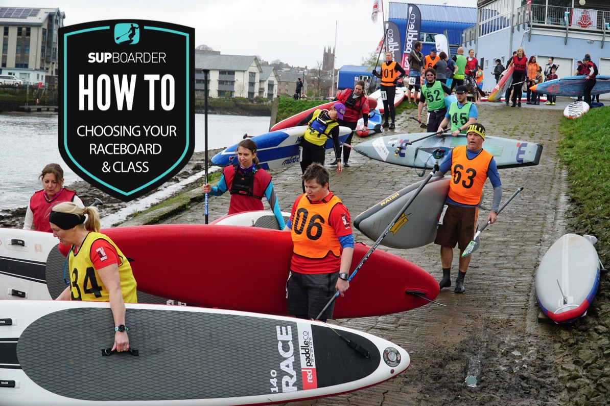 Choosing your SUP raceboard & class