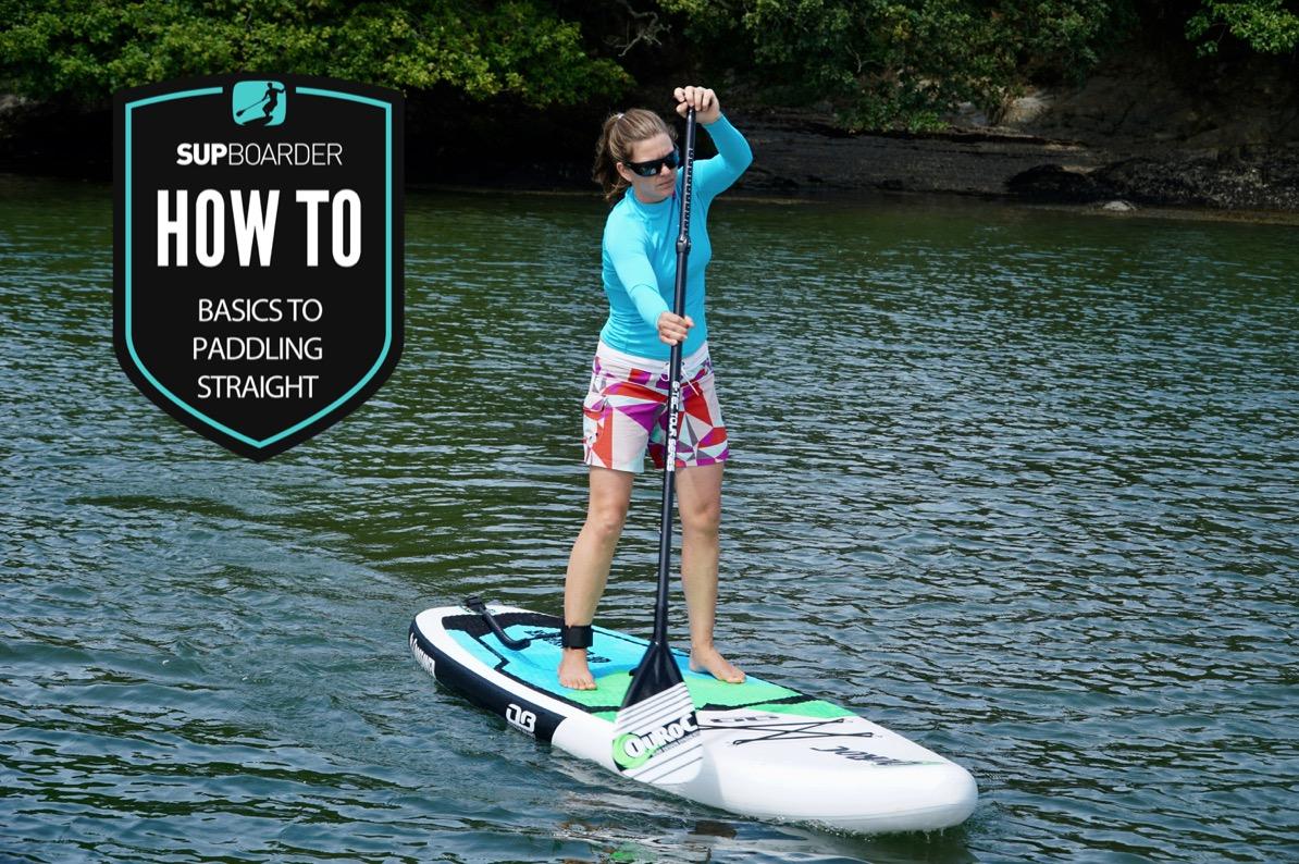 paddling straight