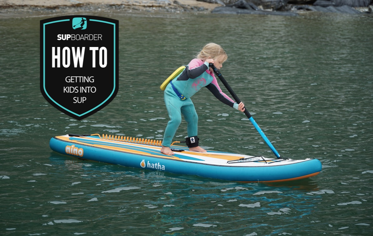Getting kids into SUP