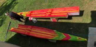 Dragon SUP build - Shane Perrin