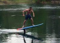 flatwater SUP foiling