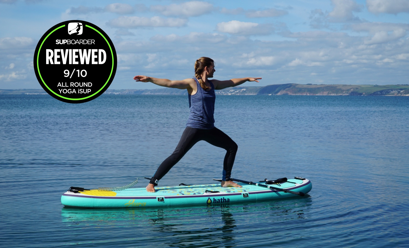 Hatha Aura 10'4'' / All round yoga iSUP Video review