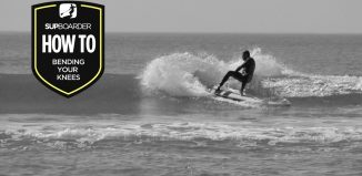 Becoming a 'Better' SUP surfer - Bending your knees / How to video