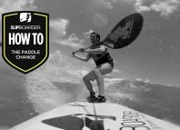 Becoming a 'Better' SUP surfer - The paddle change / How to video