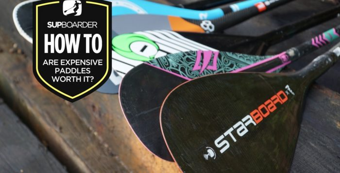 Are expensive SUP paddles worth it? - Race Dr Bryce Dyer