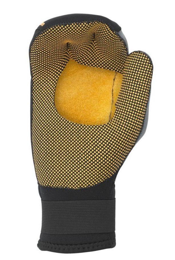 Palm palmless mitt