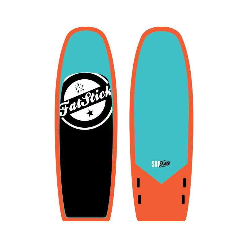 Fatstick SUP Skate 8′