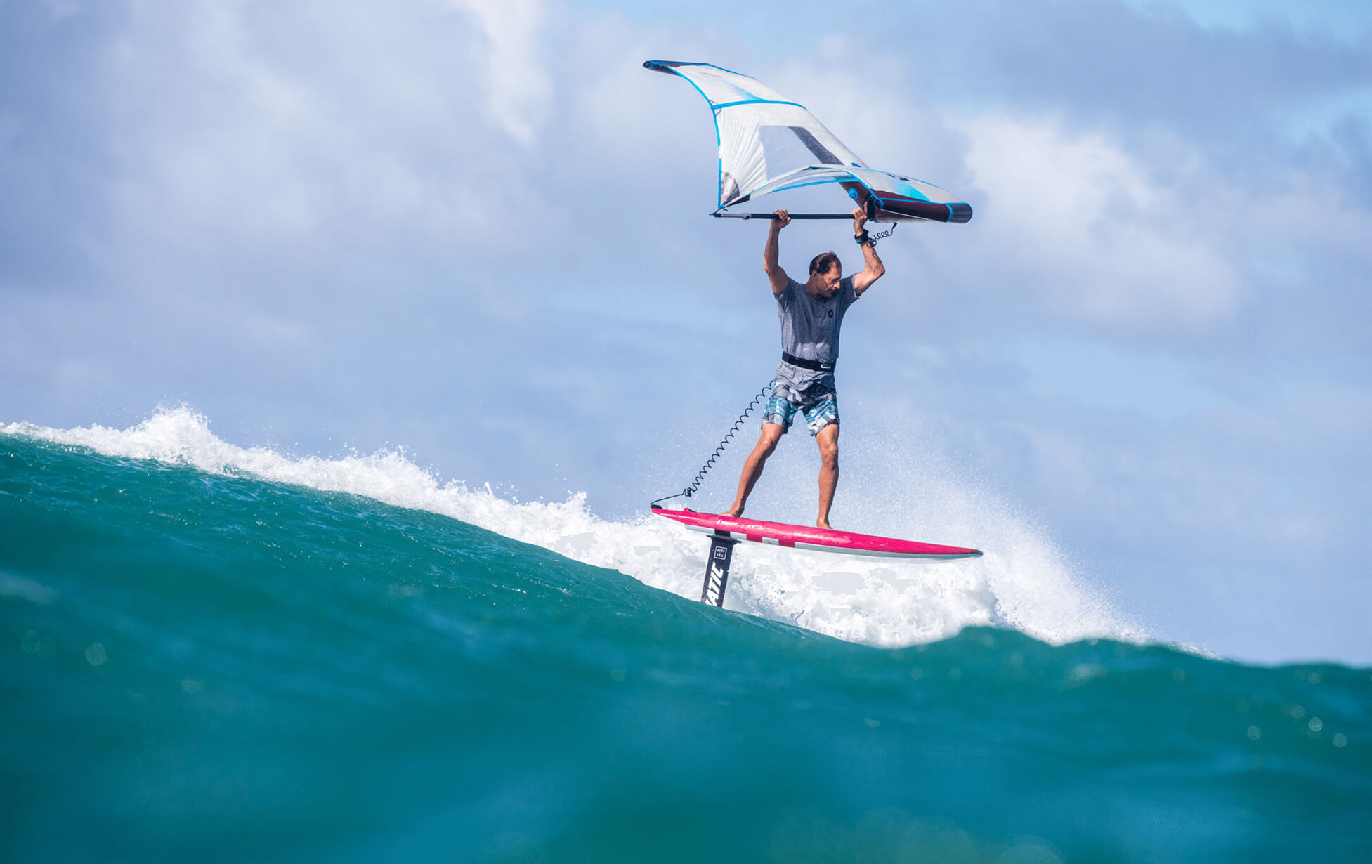 Duotone take on the Wing Surfer with the Foil Wing