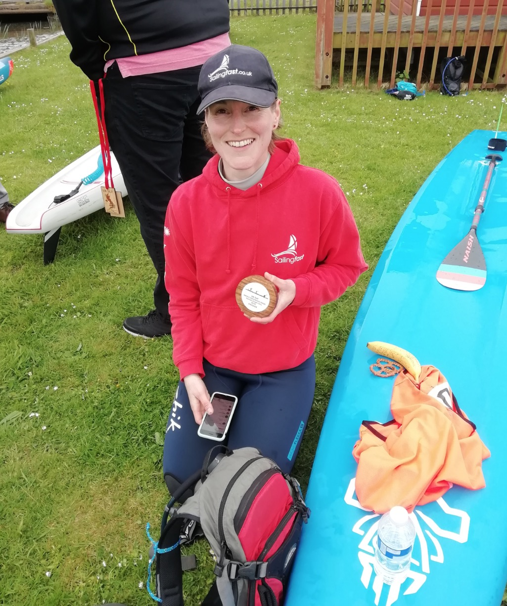 Emma Hepplewhite at The Norfolk Broads Ultra