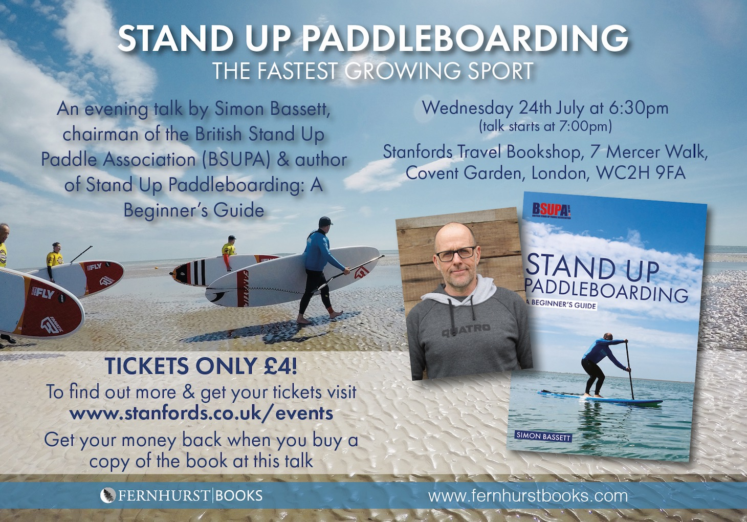 Stand Up Paddleboarding - A beginners guide