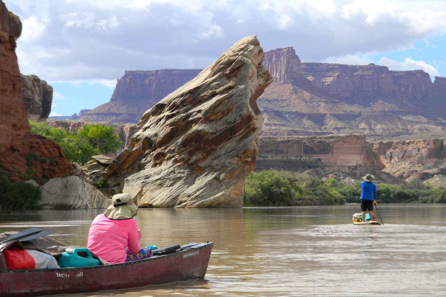 Travel with a Paddle - Green River, Utah